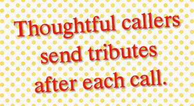 Send a tip or tribute
