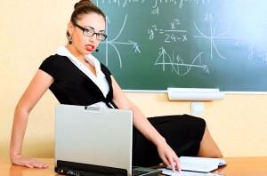 Sexy professor lady